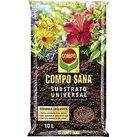 Compo Sana Universal de Calidad para macetas con 12 semanas de abono para Plantas de Interior, terraza y jardín…