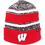 2d041f20ce573 Wisconsin Badgers Official NCAA Slush Cuffed Knit Beanie Sock Hat by Zephyr  694978