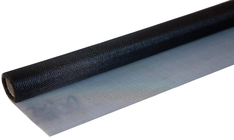 Windhager 03444 Insektenschutz Fliegengitter Insektenschutzgewebe aus hochwertigem Fiberglas, Maschenfest verschweiß t, UV-bestä ndig, 100 x 250 cm, Weiß , 120 x 250 cm