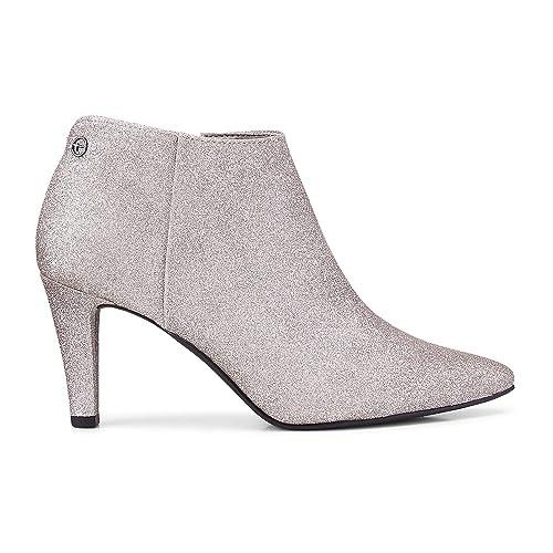 Tamaris 1 25326 31 Damen Stiefelette Ankle Boots Glitzer