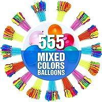 555 PCS Water Balloons - Water Balloons Self Sealing - Water Balloons Bulk - Water Toys - Pool Games -Instant Water…