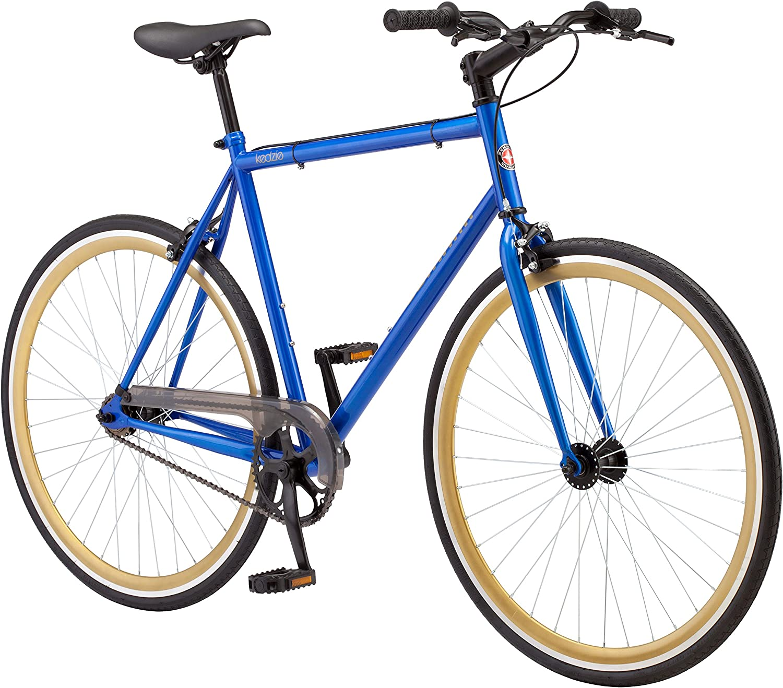 Schwinn Kedzie Single-Speed Fixie Road Bike, Lightweight Frame for City Riding