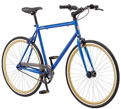 Amazon.com : Schwinn Kedzie 700c Fixie Bicycle, Blue : Sports & Outdoors