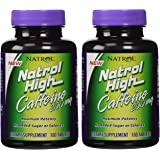 Natrol (incl Laci Le Beau Teas) Natrol High Caffeine (Pack of 2)