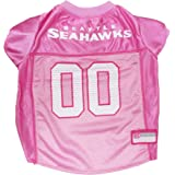Pets First NFL PINK PET APPAREL. JERSEYS & T-SHIRTS for DOGS & CATS