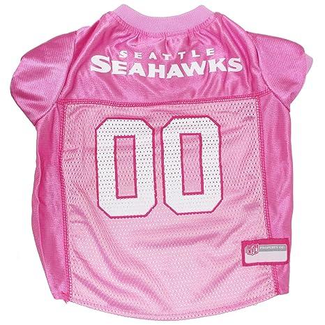 Amazon.com   NFL Seattle Seahawks Dog Jersey Pink ed68cc9fc