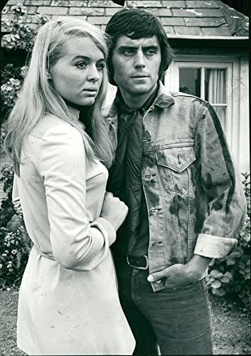 Vintage Photo Of Ian McShane And Sinead Cusack