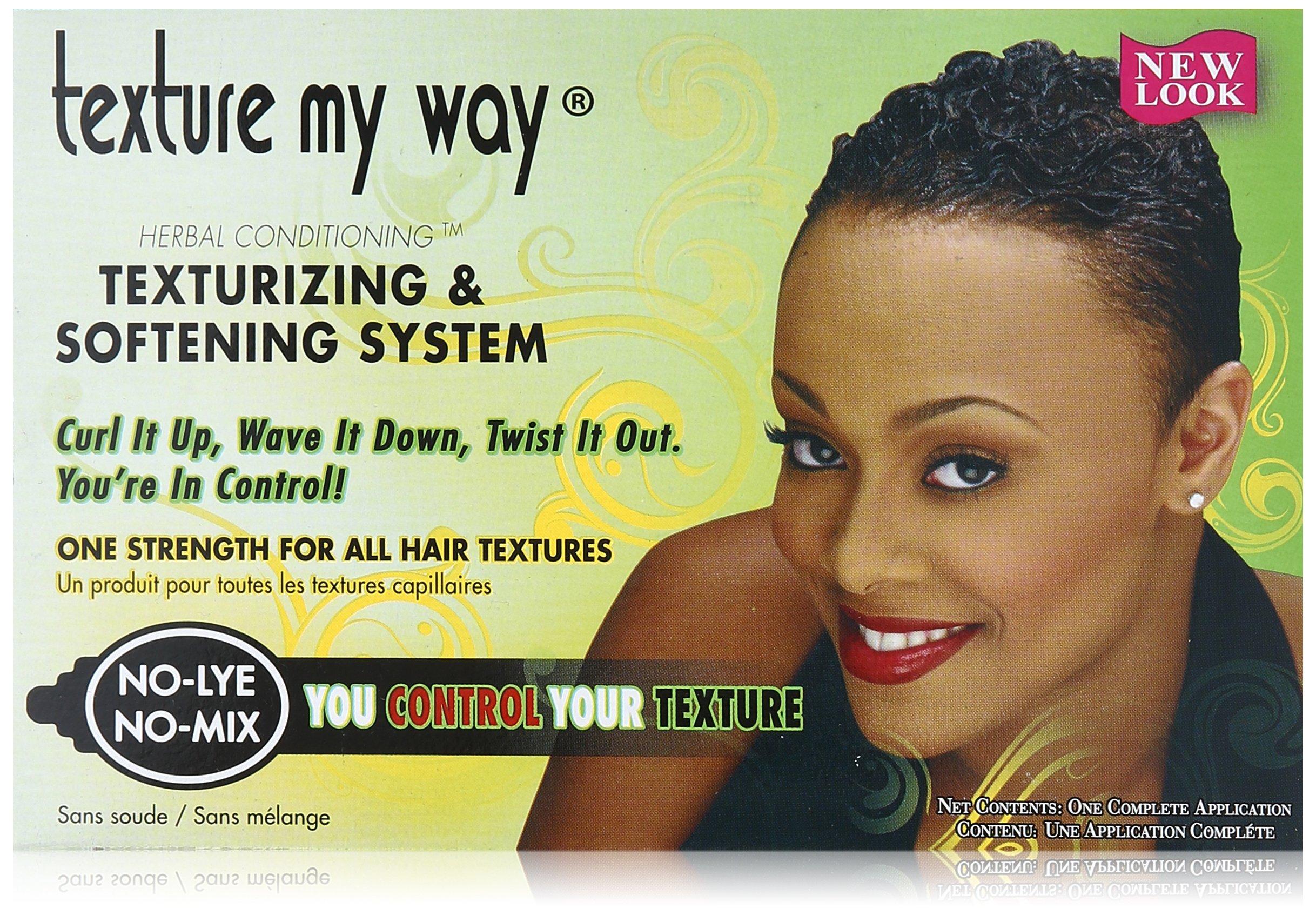 Organics My Way No-Lye Organic Conditioning Texturizing System