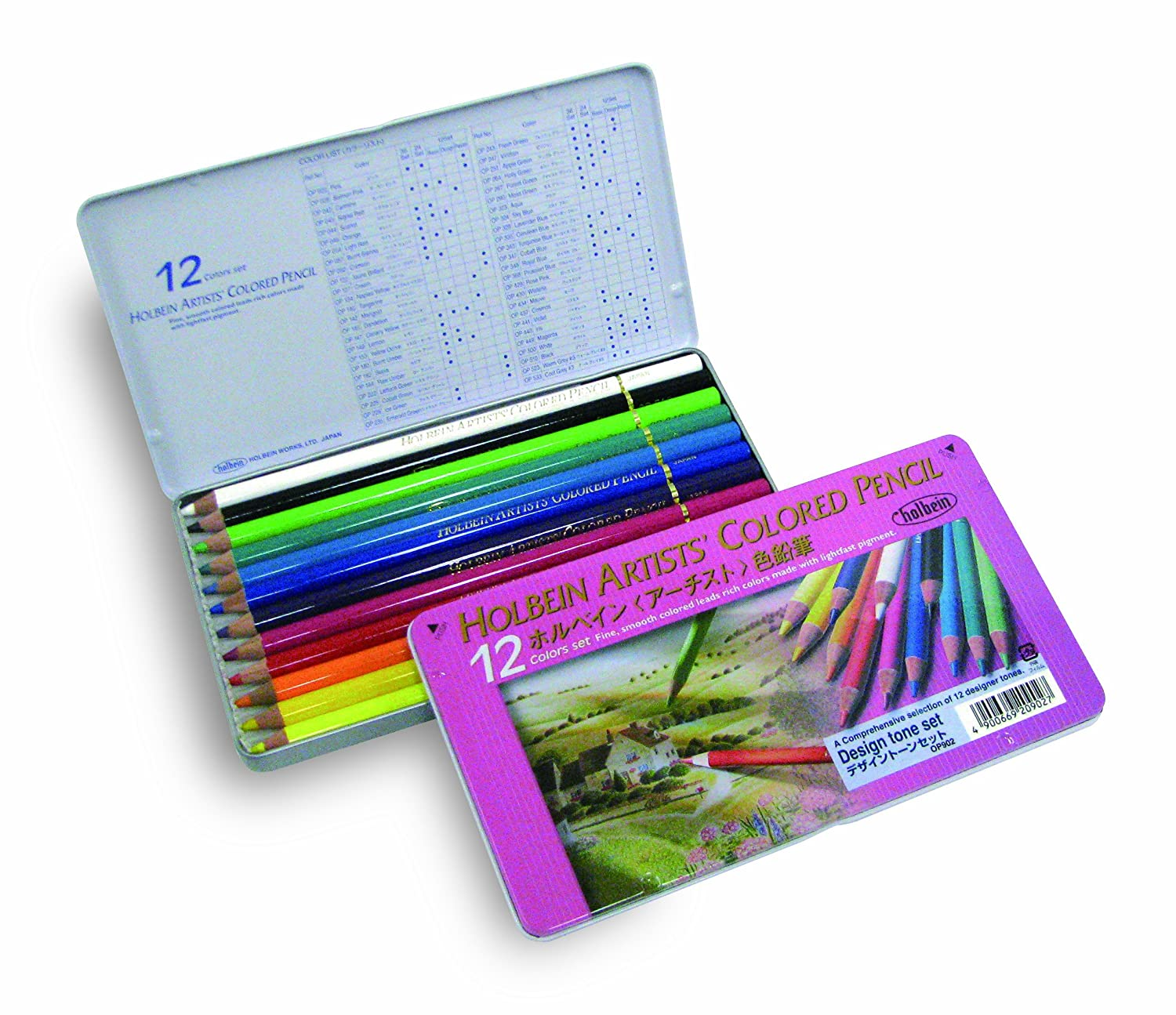 12 Farbe tone set design Holbein colGoldt pencil (japan import) B001GQ37XY | Sale Outlet
