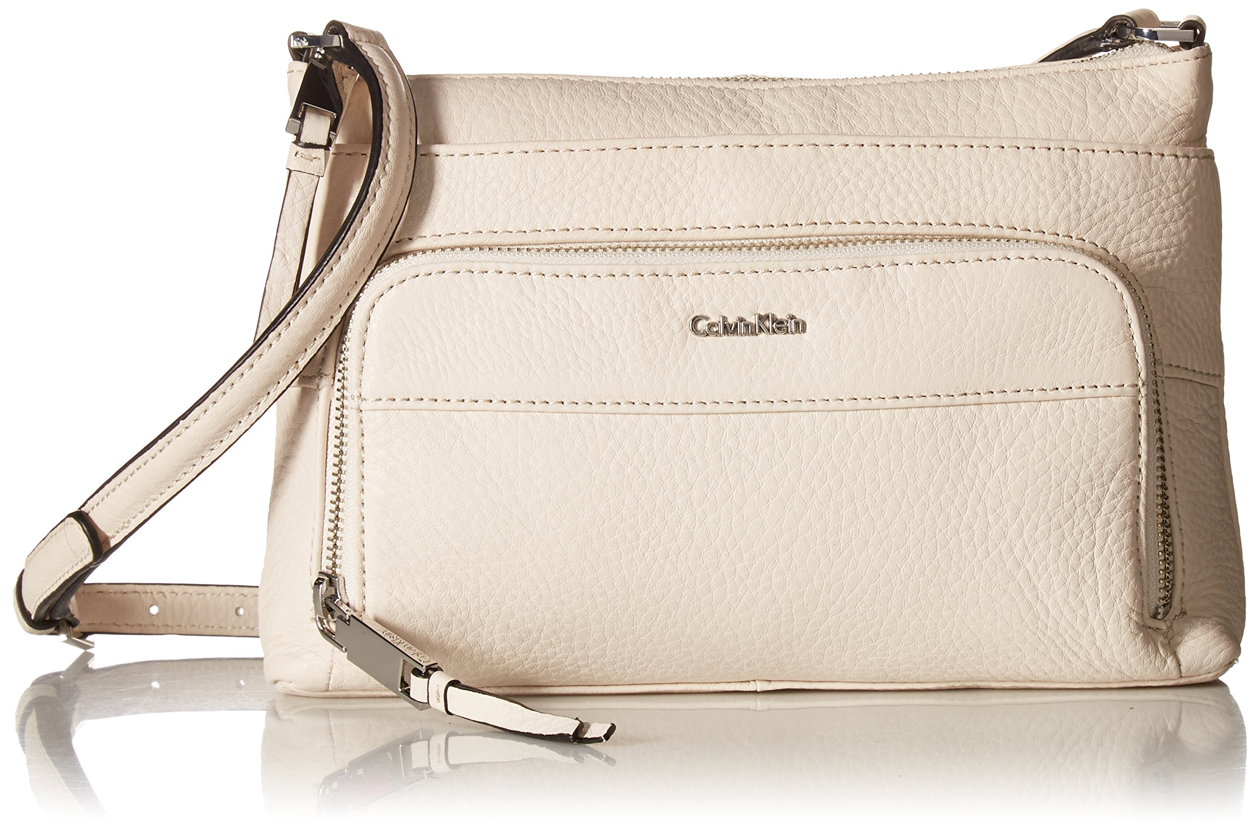 Calvin Klein Key Item Pebble Multi Entry Crossbody