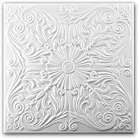 Azulejos de techo de espuma de poliestireno 0876