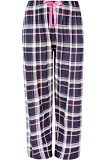 Yours Clothing Womens Plus Size Check Pyjama Bottoms