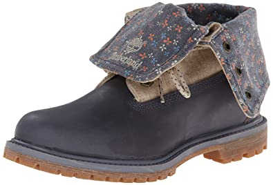 Timberland Women's EK Authentics Canvas Fold Down Boot, Folkstone Grey Dry  Gulch, ...