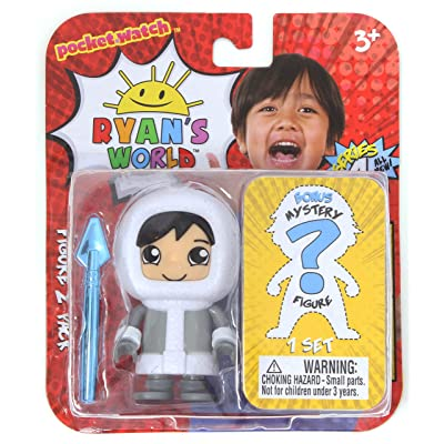 Ryan's World Pocket Watch Figure 2 Pack Series 4 - Ryan of The North and Bonus Figure: Toys & Games