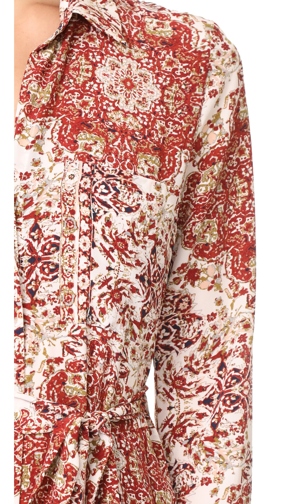 L'AGENCE Women's Delia 3/4 Sleeve Jumpsuit, Rhubarb Multi, 10 by L'agence (Image #5)