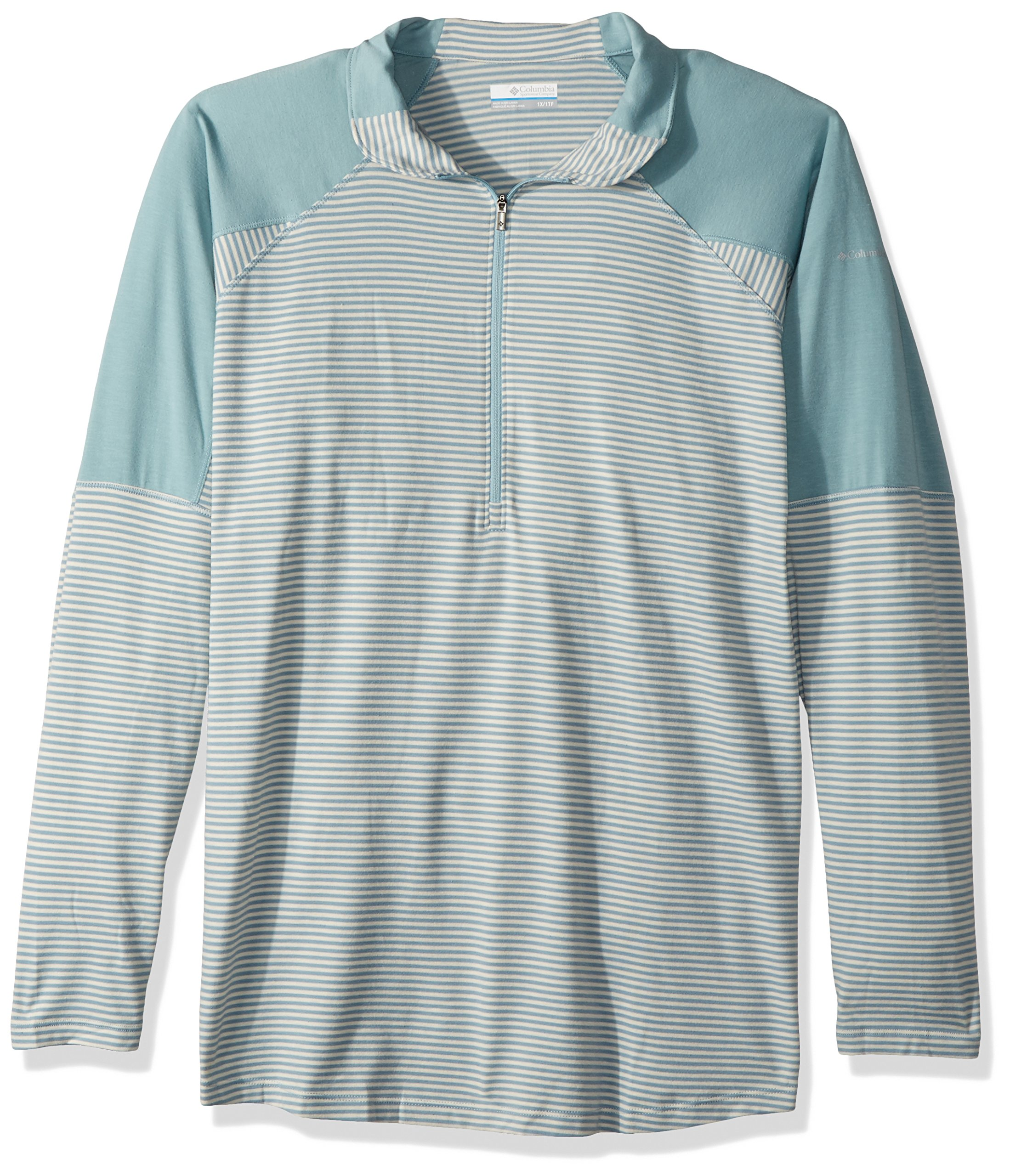 Columbia Layer Upward 1/2 Zip, Stone Blue, X-Small by Columbia