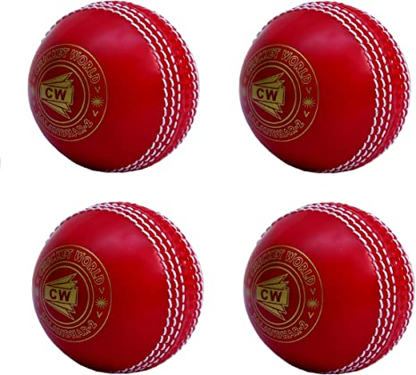 CW - Juego de 4 pelotas de críquet de PVC blando (policloruro de ...