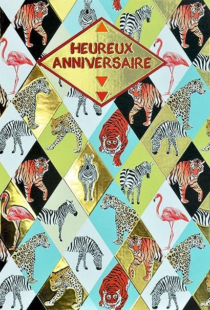 afie 69 - 4013 tarjeta feliz cumpleaños con Dorure oro ...