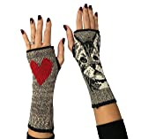 Green 3 Women's Kitty Handwarmers