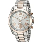 U.S. Polo Assn. Women's Quartz Metal and Alloy...