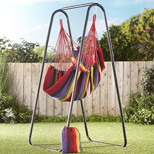 The Lakeside Collection Striped Hanging Chair
