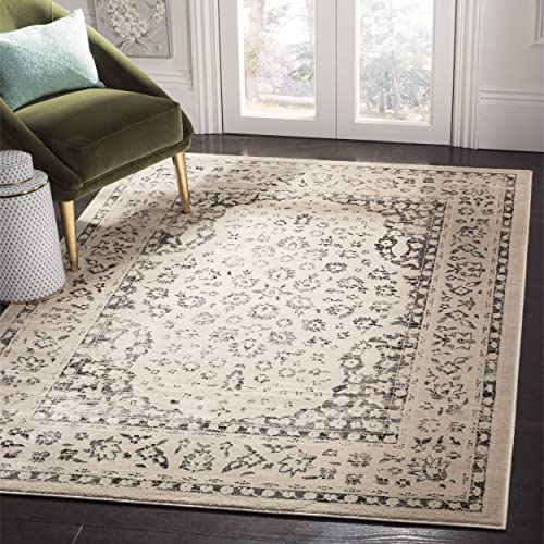 Safavieh Evoke Collection EVK508C Vintage Oriental Beige and Blue Area Rug 8' x 10'