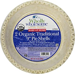 product image for Wholly Wholesome, Pie Shells, Traditional, 2 Count , 14 oz (Frozen)