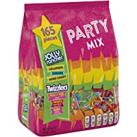 165-Pieces Hershey's Halloween Candy Jolly Rancher & Twizzlers Variety Mix 48 Ounce