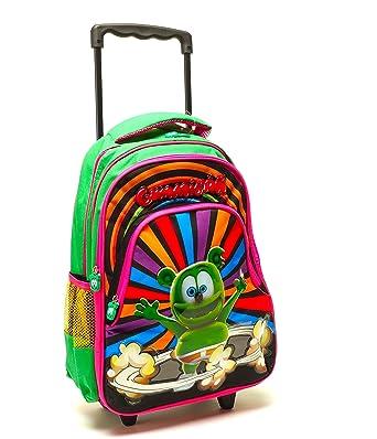 GUMMIBÄR (la) de osito de gominola con ruedas Rolling libro bolsa mochila: Amazon.es: Ropa y accesorios