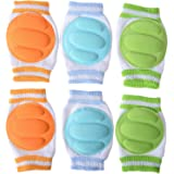 Cren Infant Toddler Baby Knee Pad Crawling Safety Protector, pack of 3 pairs