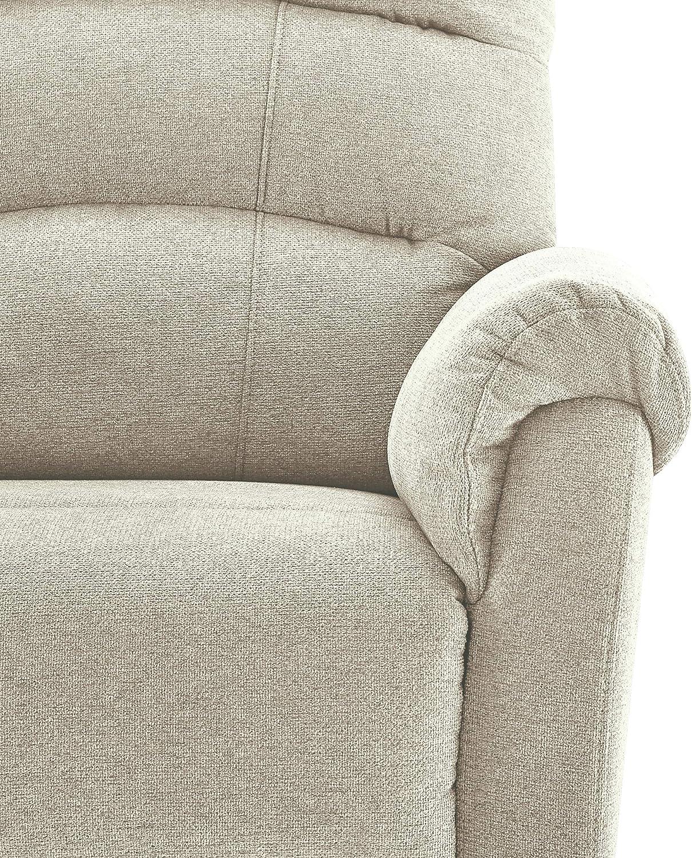 Classic Brands Crescent Upholstered Swivel Glider Rocker Chair Grey