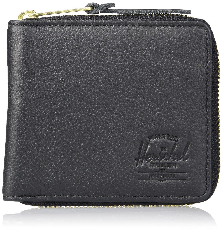 [ハーシェルサプライ] 財布 Walt 10370-00001-OS B01LXG3Y0S Black Pebbled Leather Black Pebbled Leather