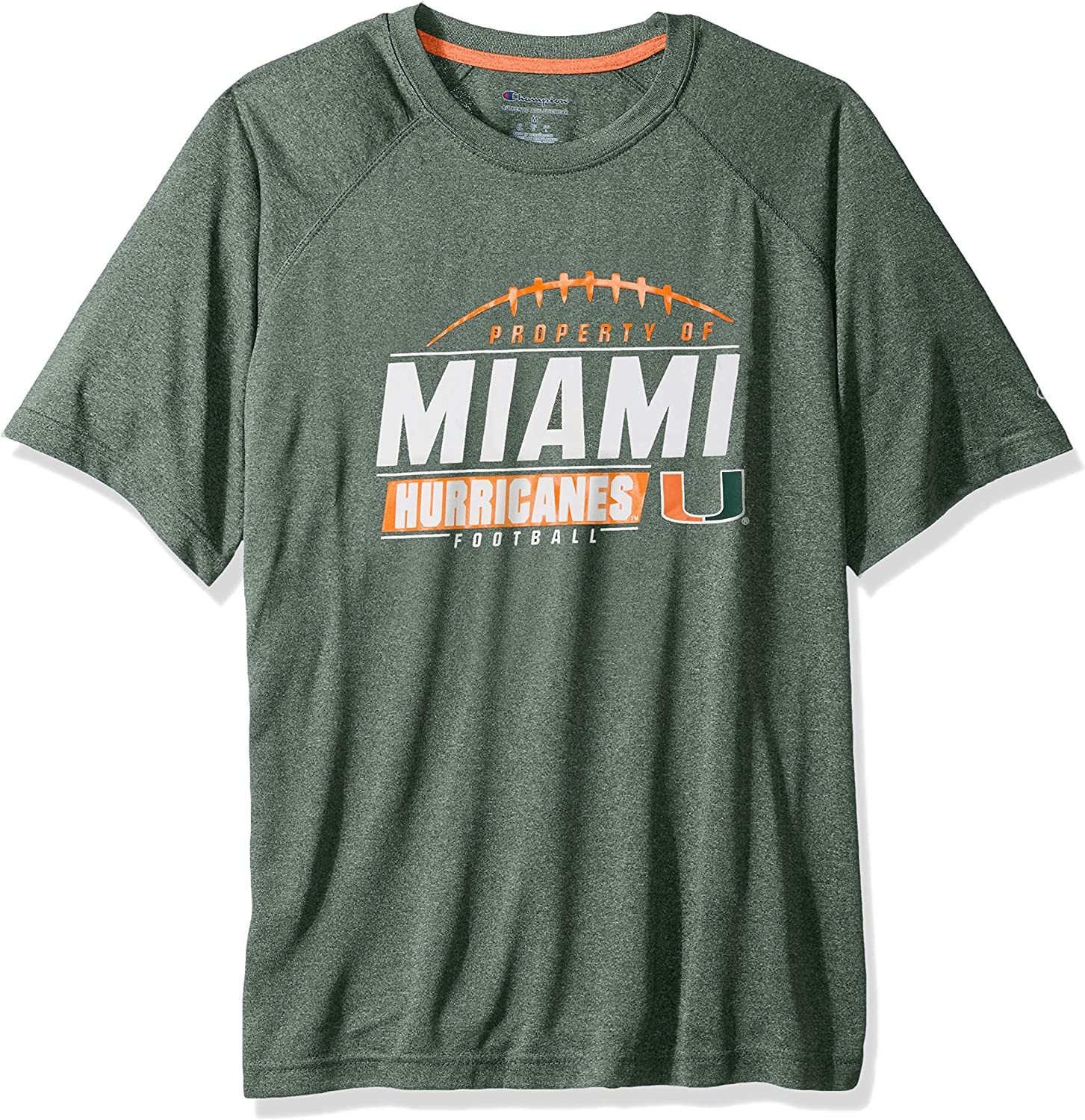 Champion NCAA Mens NCAA Mens Short Sleeve Football Season Jersey Tee