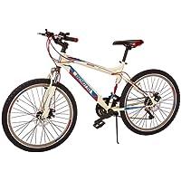 Benotto Bicicleta Ignition FS MTB Acero R26 21V Hombre Shimano Frenos Doble Disco