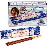 Satya Nagchampa Incense baquetas (15gms X 12paquetes)