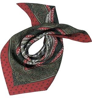 Moschen-Bayern Damen Herren Trachtentuch Halstuch Trachten Trachtenhalstuch Seide Pink