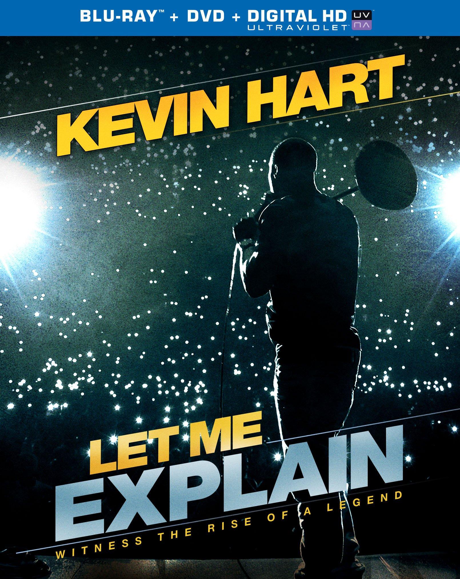 Kevin Hart Let Me Explain [Blu-ray + DVD + Digital]