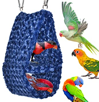 Cozy Parrot Hideaway Tent - Perfectly sized for conures quaker parrots rosellas ringneck  sc 1 st  Amazon.com & Amazon.com : Cozy Parrot Hideaway Tent - Perfectly sized for ...