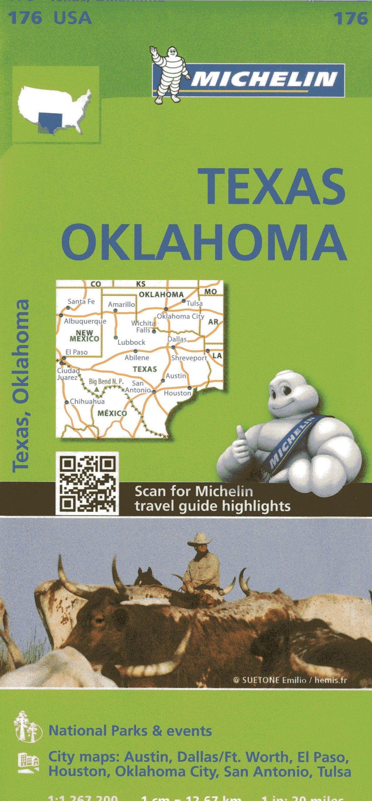 Michelin USA Texas, Oklahoma Map 176 (Michelin Zoom USA Maps ... on map ltd, map measure tool, map snap, map reporter, map widget, map land of the lost, map scaling, map icon library, map of spain la liga teams, map select, map slide, map of europe with names, map watermark, map measure distance, map shelby, map hancock, map layers, map screensaver, map information,