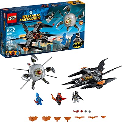 LEGO DC Super Heroes Batman: Brother Eye Takedown 76111 Building Kit (269 Piece): Toys & Games