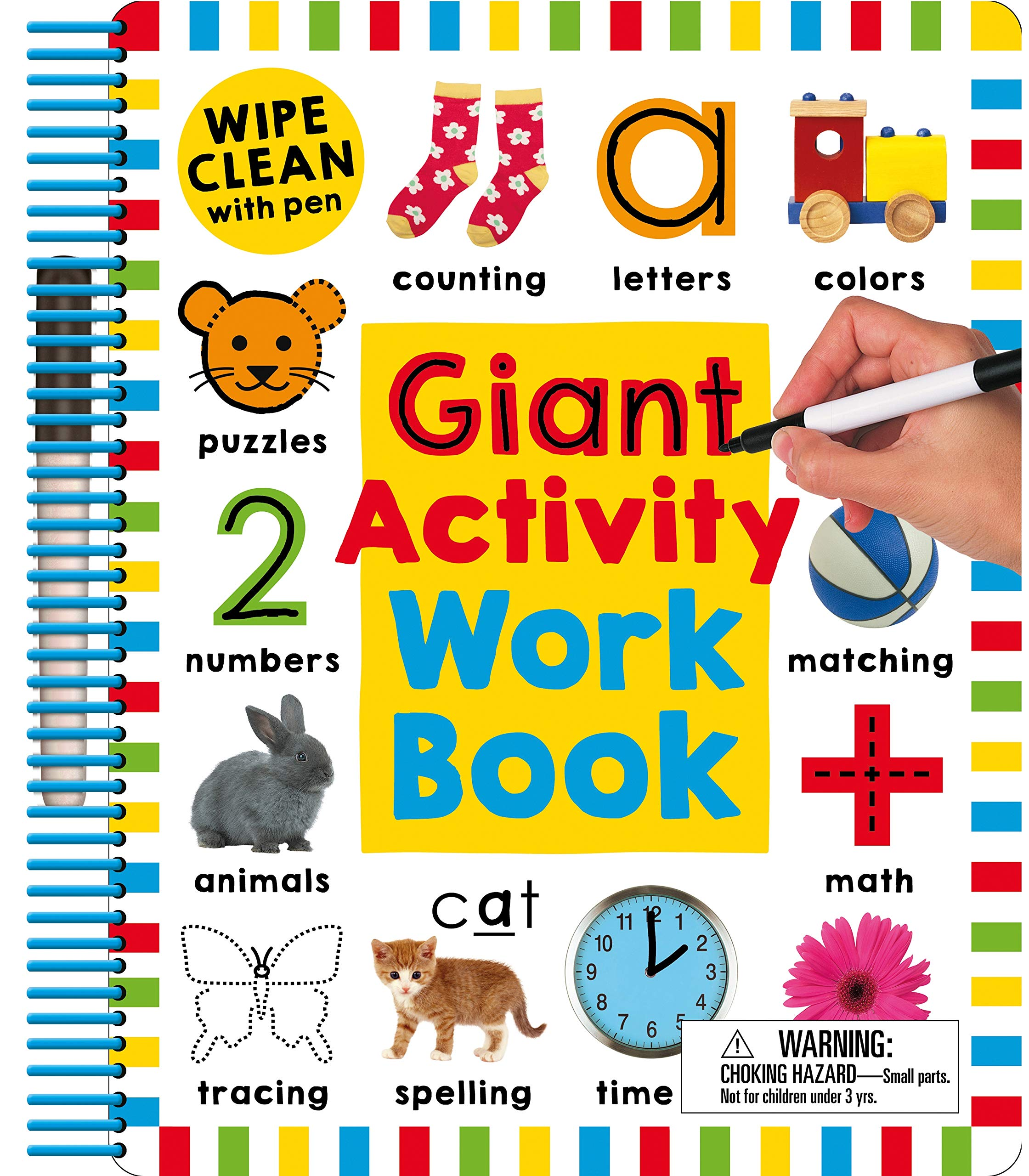 Wipe Clean Giant Activity Workbook product image