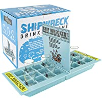 "Fairly Odd Novelties FON-10043 ""Who Needs a Ship? Take Your Shots Into Battle"" Shipwreck Drinking Game"
