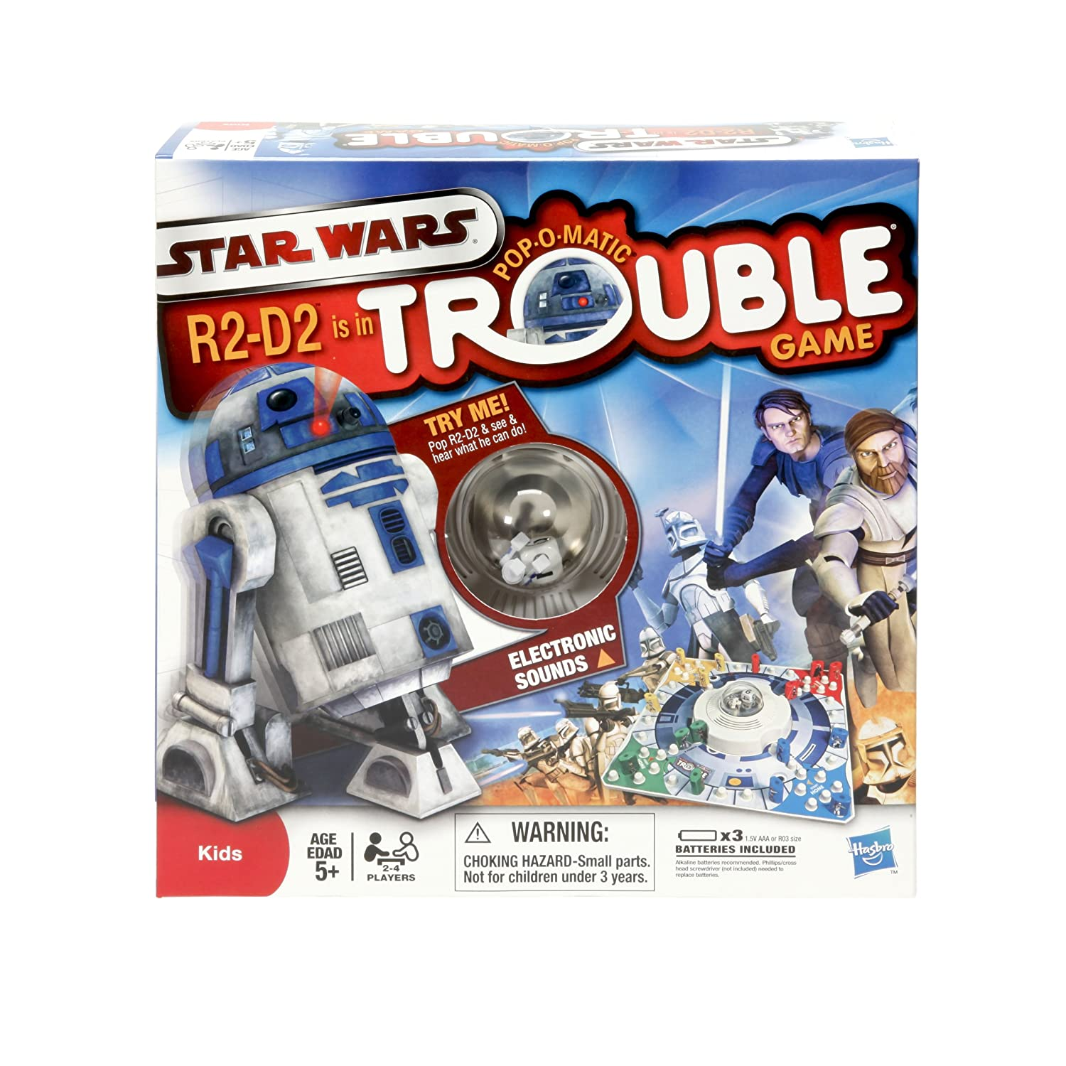 Amazon Trouble Star Wars R2 D2 Is In Trouble Game by Hasbro