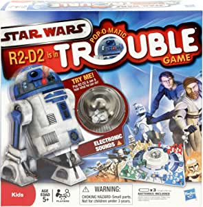 Hasbro Games Star Wars R2-D2 is in Trouble Game