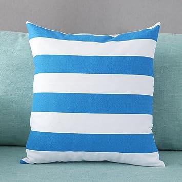 Amazon.com: De Taoson: Funda de almohada decorativa cuadrada ...