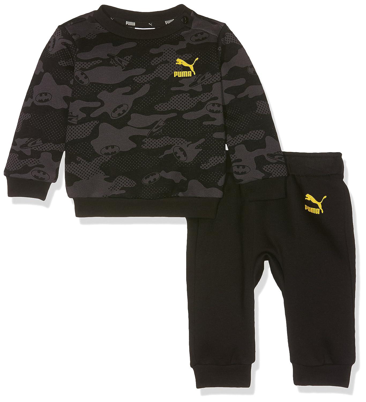 Puma Children's Justice League Jogger Suit Cotton Black Size 62 592576