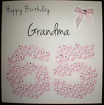 Geburtstagskarte Fur Oma Zum 65 Geburtstag Blumenmuster