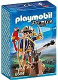 Playmobil - 6684 - Capitaine pirate avec canon