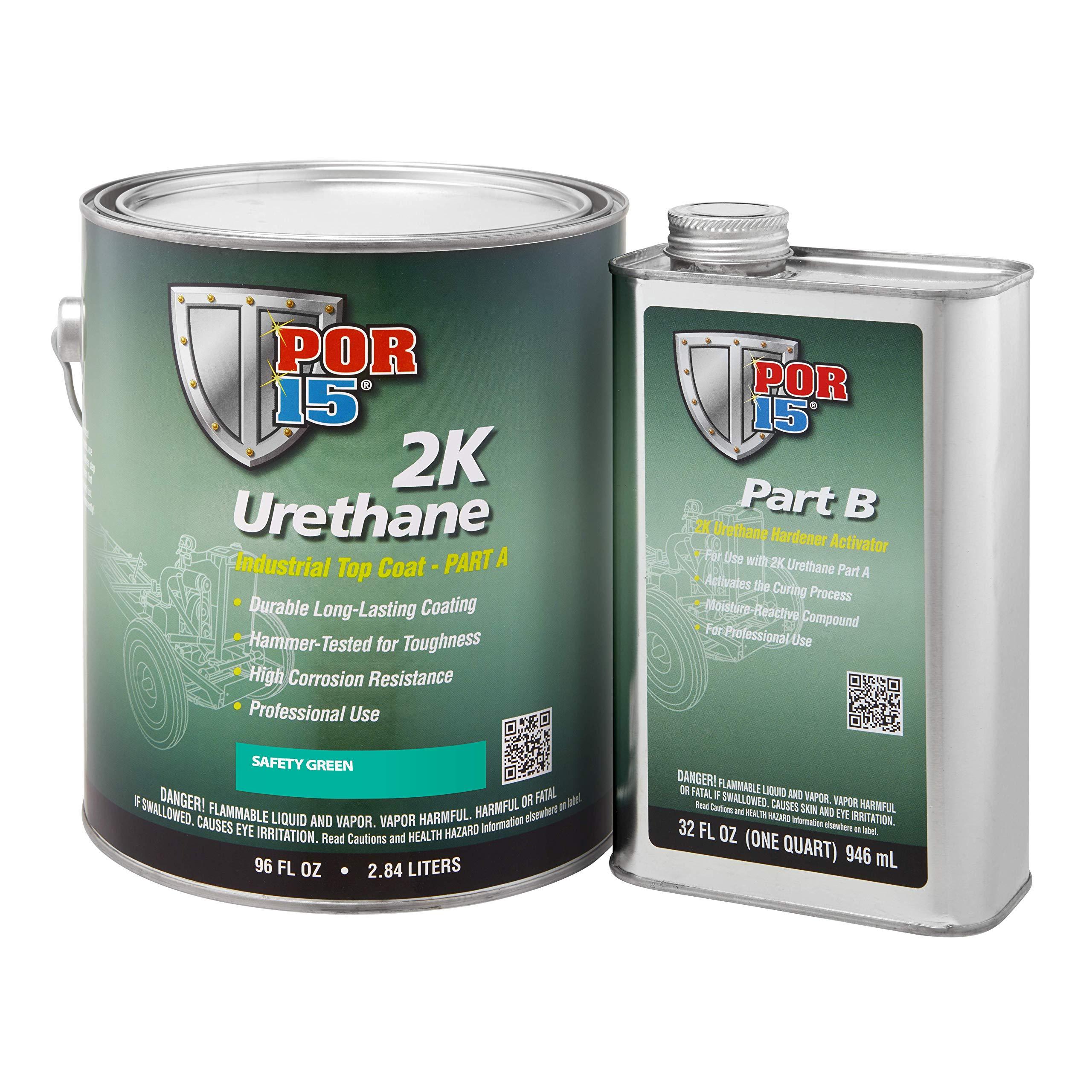 POR-15 43261 Safety Green 2K Urethane - 1 gal
