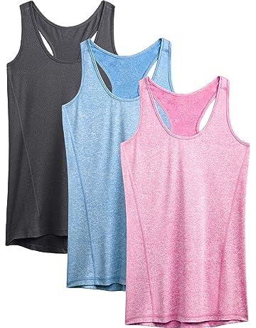0bc0ae2854ee32 Neleus Women s Racerback Yoga Workout Tank Top